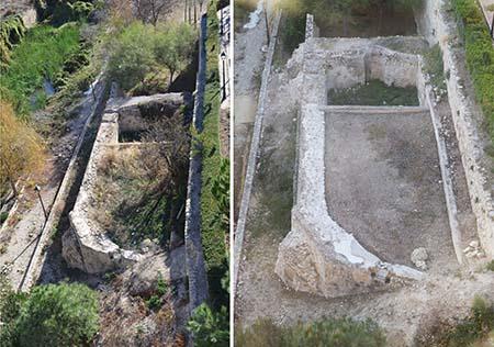 La Vila restaura la balsa antigua de la calle Calvari