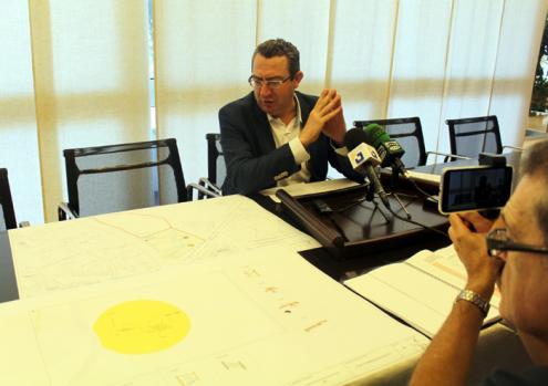 Benidorm formaliza el contrato de las obras del Parque de la Séquia Mare