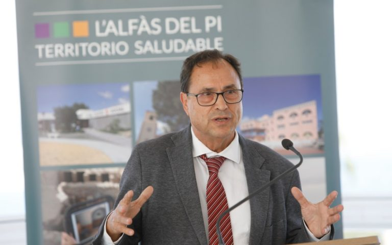 El Conseller Soler anuncia en l'Alfàs la concesión de 217.000 euros más de la Unión Europea