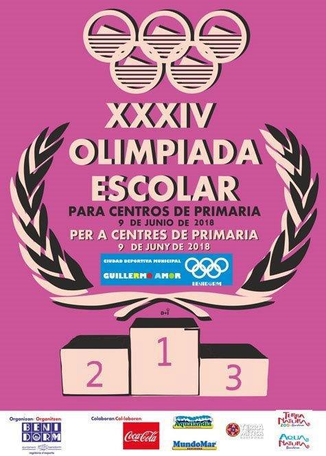 900 alumnos de Benidorm competirán en la XXXIV Olimpiada Escolar de Primaria