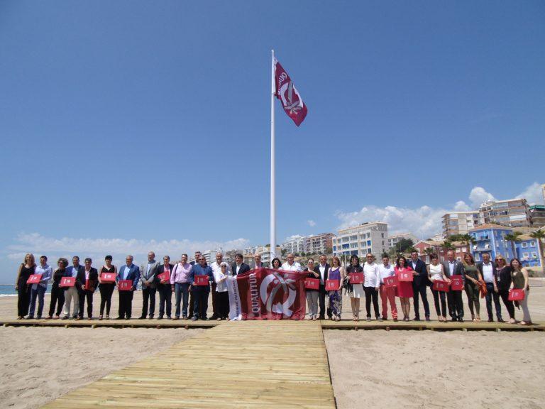 La Vila acoge la entrega de las banderas 'Qualitur'