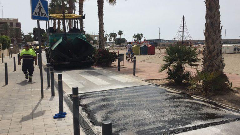 La Vila aumenta la seguridad en el paseo marítimo