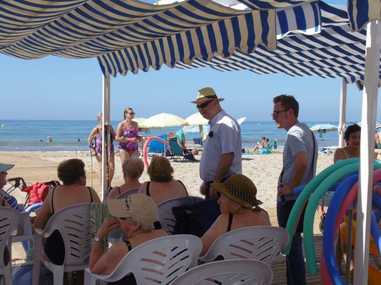 La Vila mejora las playas accesibles