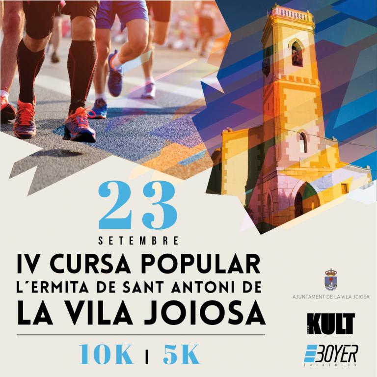 Vila Joiosa celebra la IV Cursa Popular L'Ermita de Sant Antoni