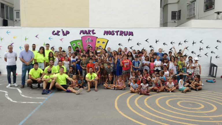 Éxito de participación de las escuelas de verano de Deportes en La Vila
