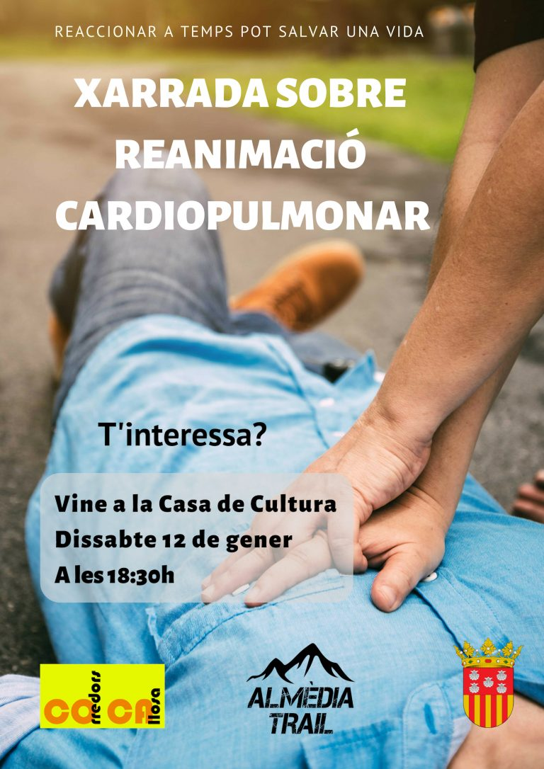 Corredors de Callosa organiza el próximo sábado una charla sobre reanimación cardiopulmonar