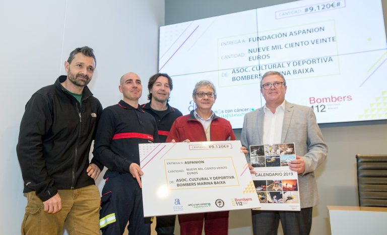 El Calendario benéfico de ASPANION recauda más de 9.000 euros