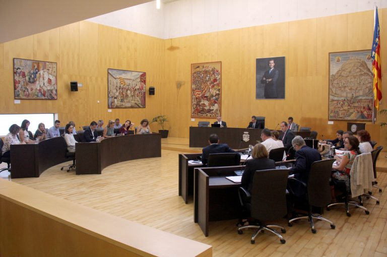 Benidorm exige al Gobierno central una reforma del sistema de financiación autonómica