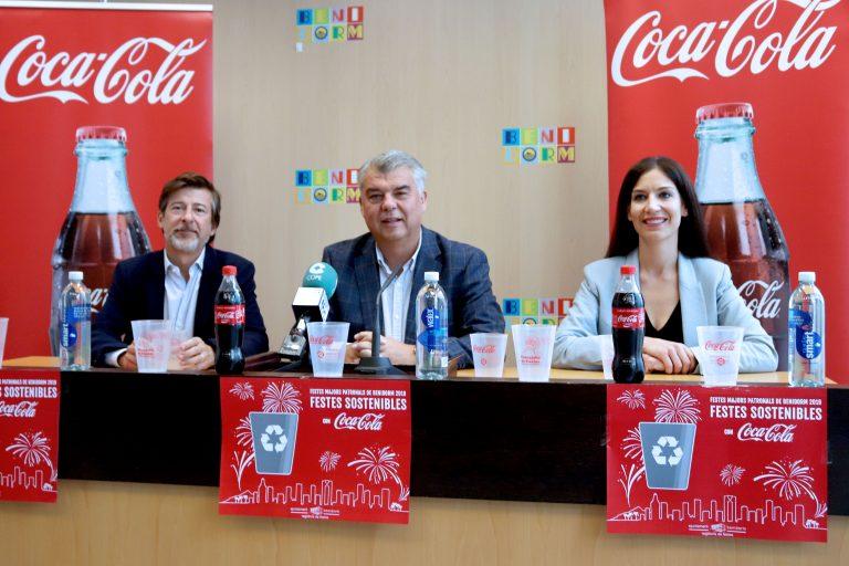 Las concejalías de Fiestas y Medio Ambiente de Benidorm repartirán 10.000 vasos reutilizables