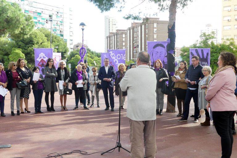 Benidorm conmemora el «Día Internacional para la eliminación de la violencia contra la mujer»