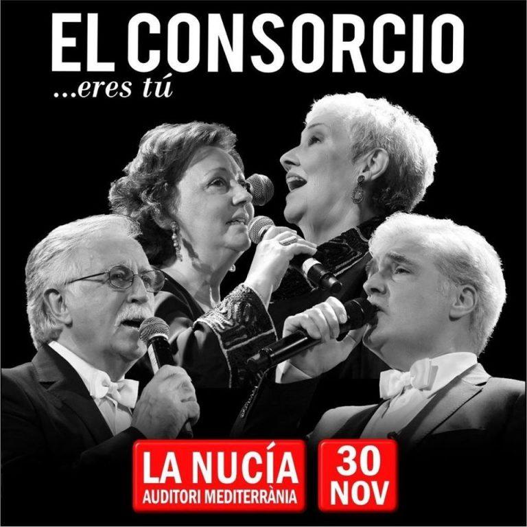 El Consorcio actúa este sábado en l'Auditori de la Mediterrània de La Nucía