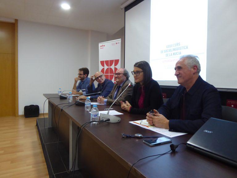 Participación de récord en el «XXXII Curso de Sociolingüística» de La Nucía
