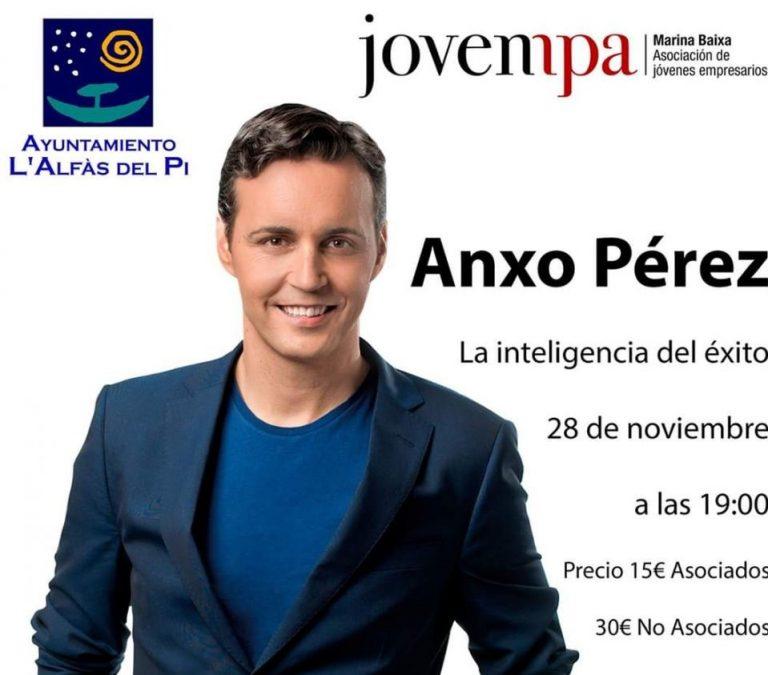 Jovempa Marina Baixa organiza hoy una Conferencia de Anxo Pérez en l'Alfàs del Pi