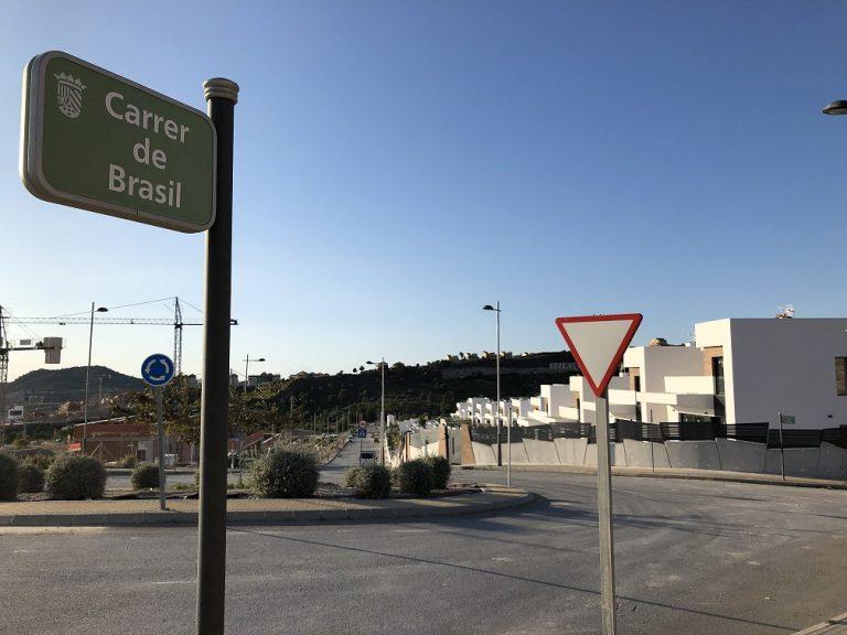 Finestrat invierte 25.000 euros en alumbrado para la zona de urbanizaciones