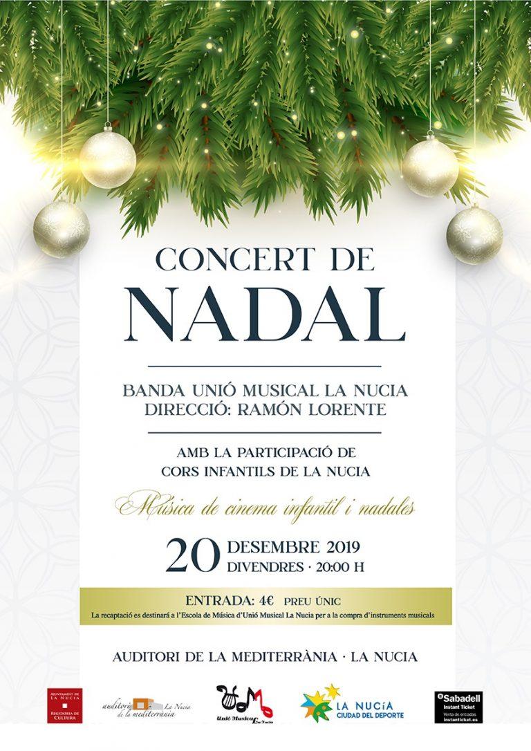 """""""Cine y Nadales"""" en el Concert de Nadal de La Nucía"""
