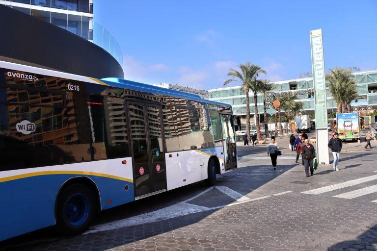 Benidorm recibe más de 260.000 euros del Ministerio para el transporte público colectivo
