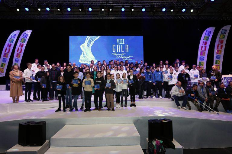 Liliana Fernández y Pablo Sánchez premiados en la octava Gala del Deporte de Benidorm