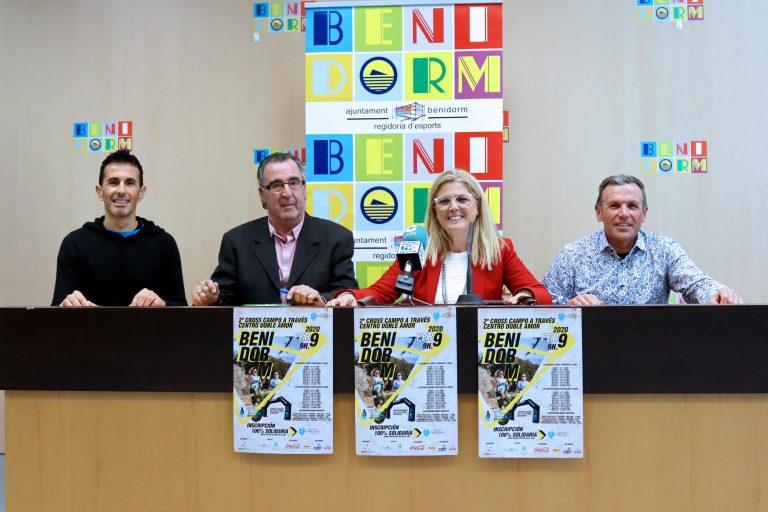 La Concejalía de Deportes de Benidorm presenta el 2º Cross campo a través Centro Doble Amor