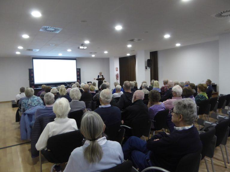 """El """"Grupo Noruego de Historia"""" inicia su curso de conferencias 2020 en La Nucía"""