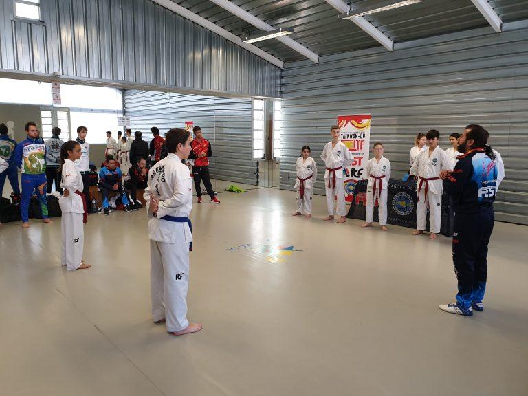 26 alumnos en el Curso Nacional de Arbitraje de Taekwon-Do ITF de La Nucía