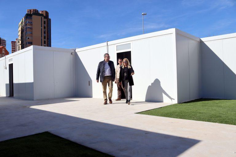 Finalizan las reformas en las instalaciones deportivas 'Antonio López' de Benidorm