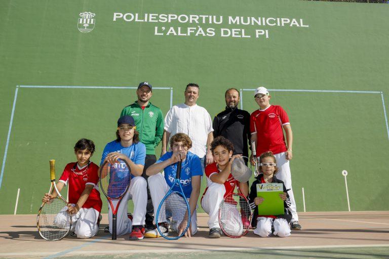 L'Alfàs del Pi y La Nucía acogen els Jocs Esportius de Frontenis de la Comunitat Valenciana