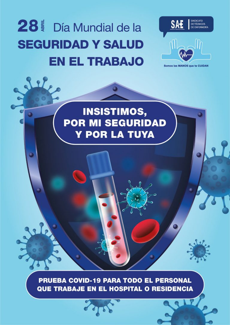 SAE EXIGE QUE LA PRUEBA PCR SE REALICE A TODOS LOS PROFESIONALES SANITARIOS