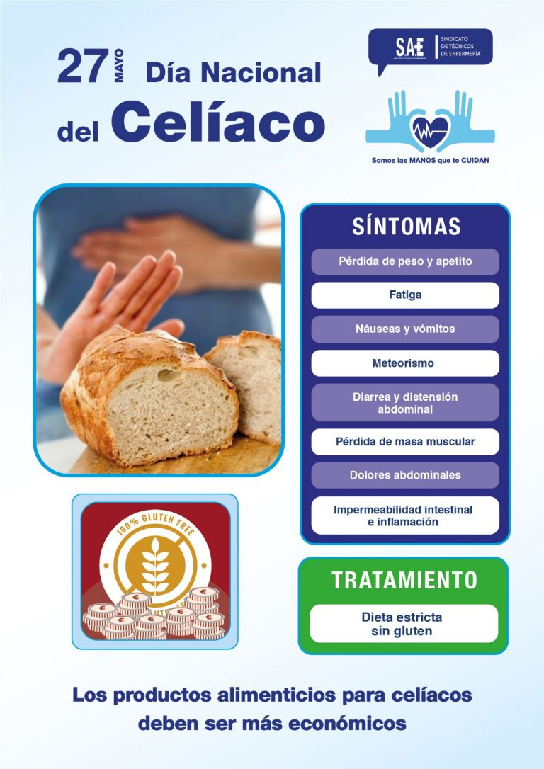 Reivindicaciones en el día nacional del celiaco
