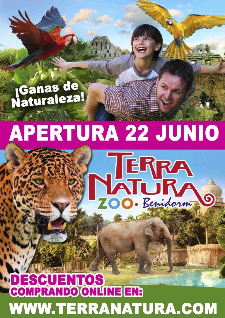 Terra Natura en Benidorm abre al público desde el lunes 22