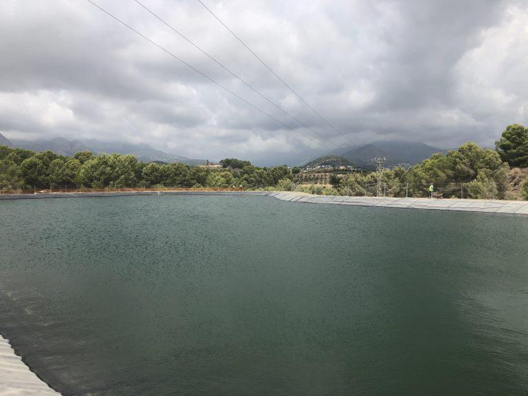 """Nueva """"Balsa"""" en La Nucía para el regadío de la Marina Baixa"""