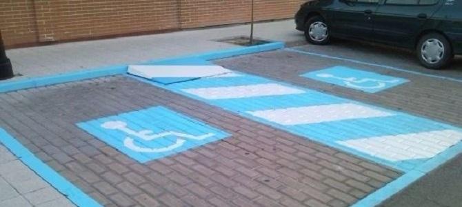 Ratificada una condena por aparcar con tarjeta falsa en zona minusválidos