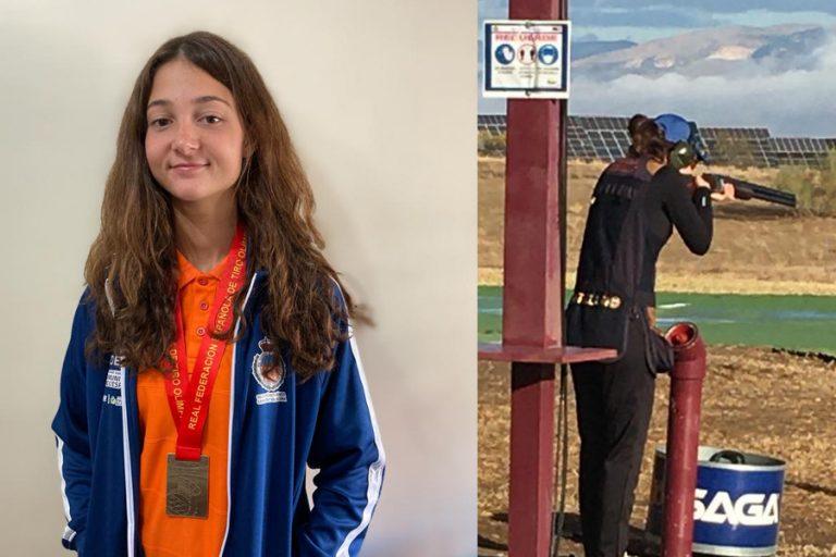 La alfasina Paula Morcillo se proclama campeona en el Campeonato Nacional de Foso Olímpico