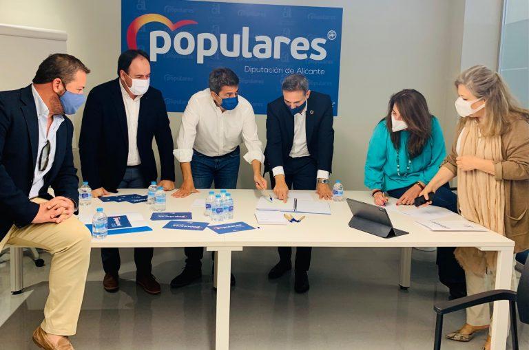 El PP de Alicante se reúne y recoge propuestas para los próximos presupuestos