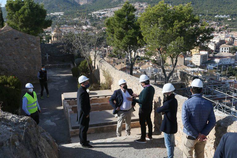 Diputación subvenciona la musealización del Castillo de Polop
