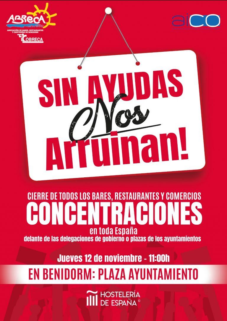 ABRECA, COBRECA Y AICO animan a participar en la protesta nacional