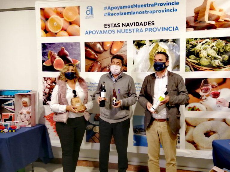 L'Alfàs con la Diputación apoyan el consumo de productos autóctonos
