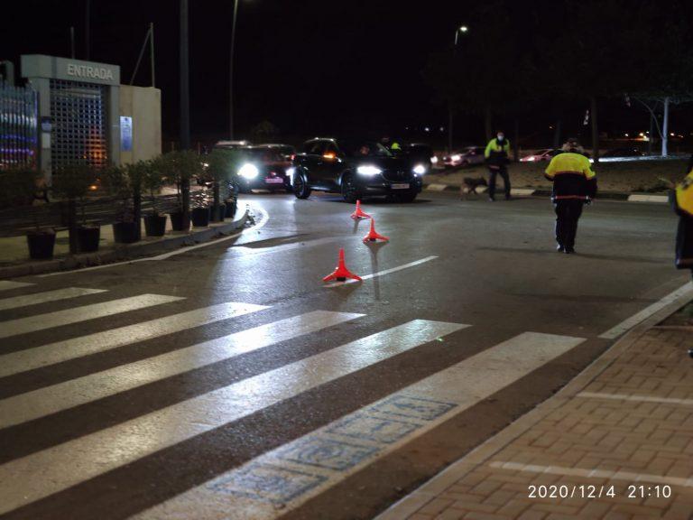 La Policía Local de la Vila Joiosa comienza los controles por navidad