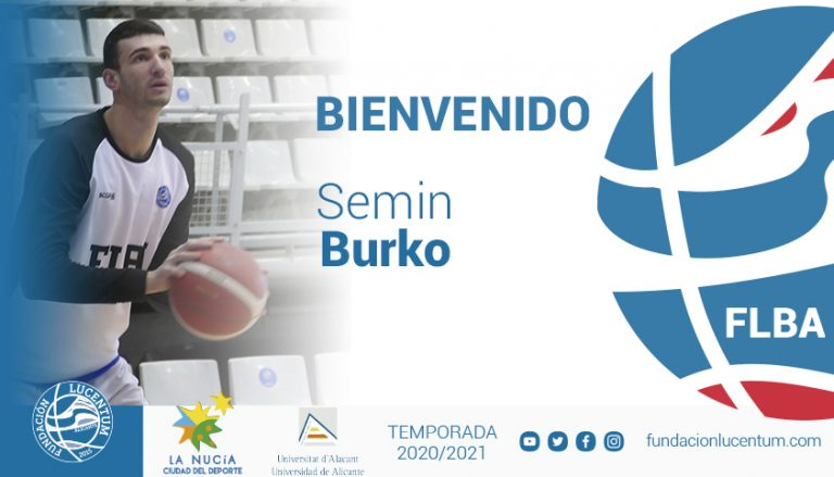 La Nucía-UA se refuerza con el fichaje del pivot Semin Burko