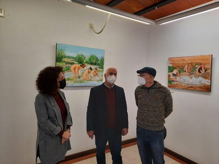"""En Altea en La Casa Toni el Fuster, exposición """"Entrant en Matèria"""" de Ramón Urios"""