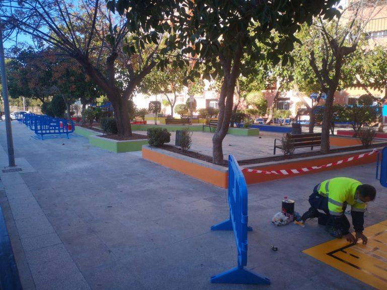 La Vila Joyosa renueva el parque Catedrático Eduardo Soler