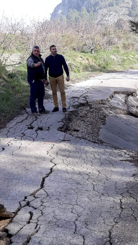 La Diputación incrementa la dotación para arreglos en caminos