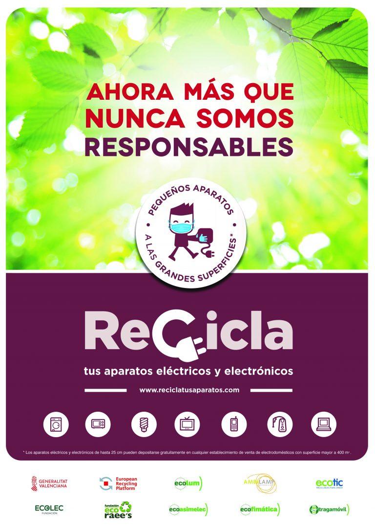 Campaña «Recicla tus Aparatos» en Villajoyosa