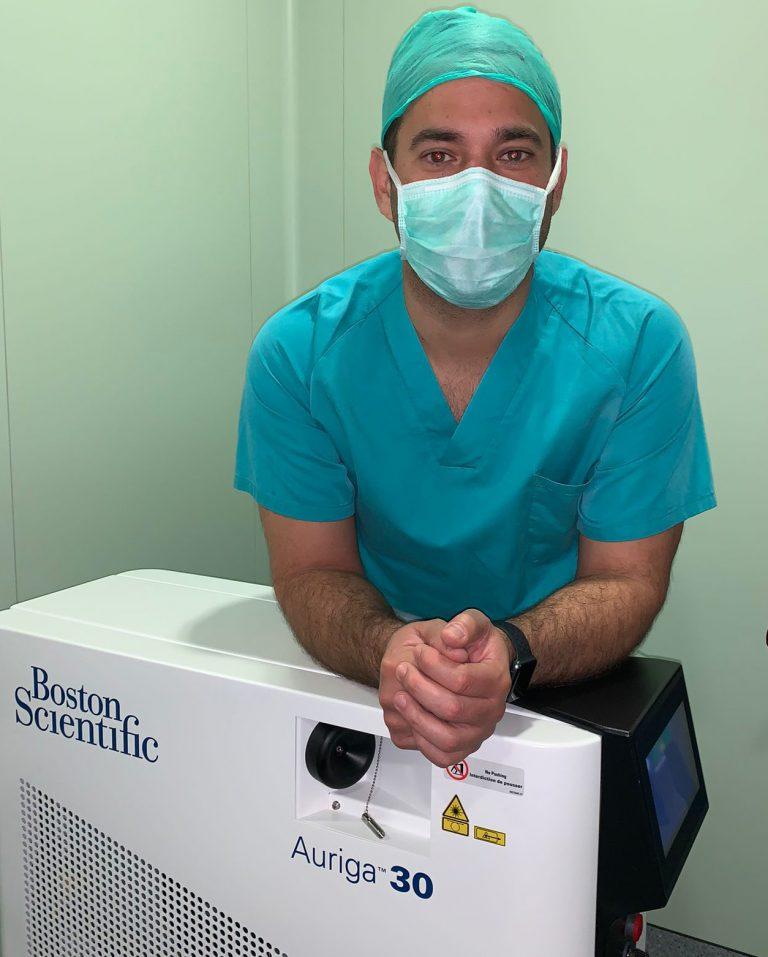 Hospital Clínica Benidorm incorpora la técnica Rezum para la próstata sin alterar sus funciones