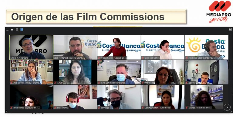 Diputación de Alicante lanza unas jornadas sobre Rodajes y Turismo Cinematográfico