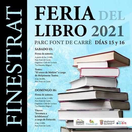 Finestrat celebra este fin de semana su Feria del Libro en el parque Font de Carrè