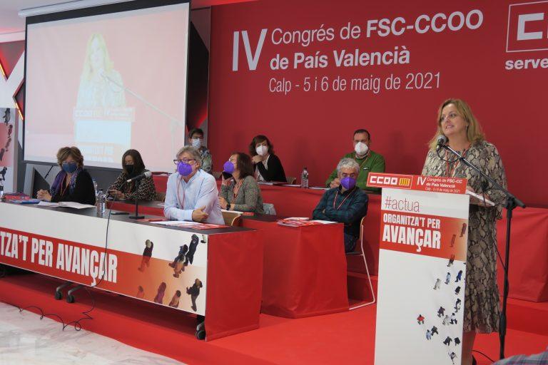 Calp acoge el IV Congreso FSC CCOO PV