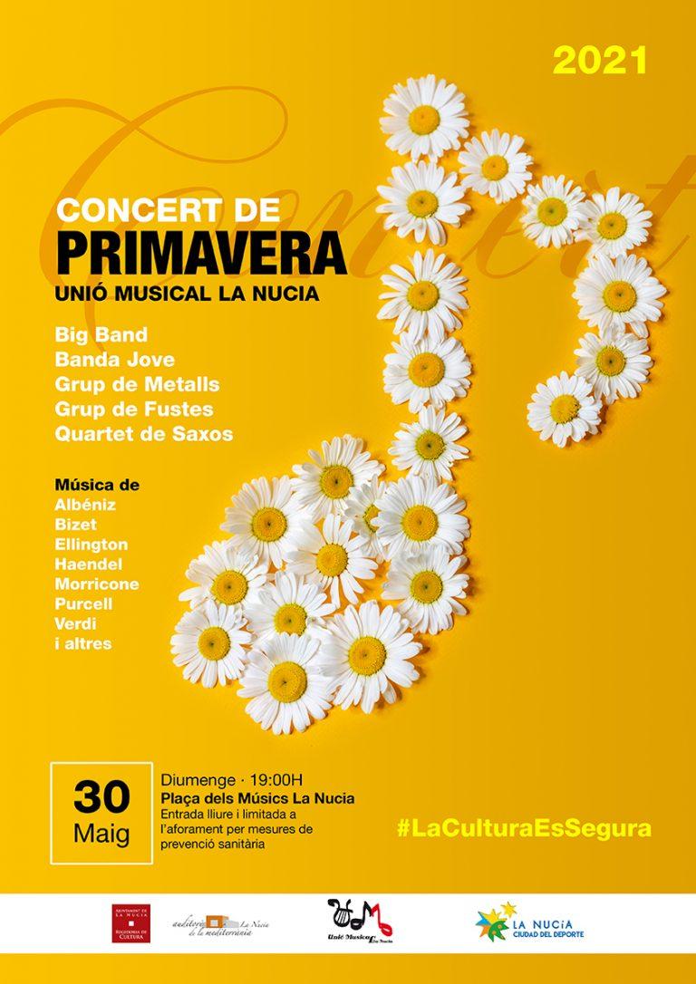 Concert de Primavera de la Unió Musical este domingo en La Nucía