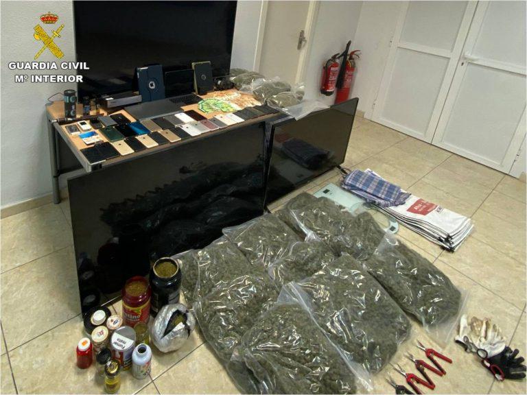 La Guardia Civil desarticula una banda lituana por tráfico de drogas en la provincia de Alicante