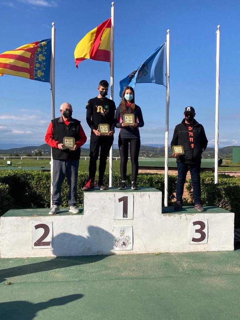 La Alfasina Paula Morcillo campeona de la Comunidad Valenciana de Tiro Olímpico