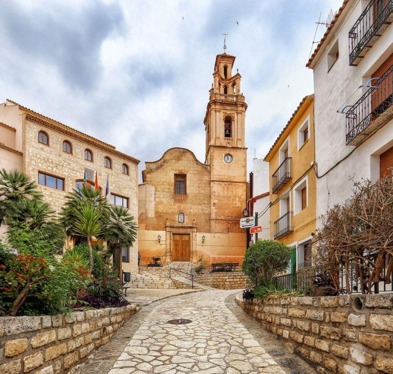 Trabajos de rehabilitación y conservación de la Iglesia de Finestrat